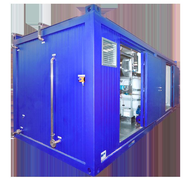 Produkt-container-anlæg